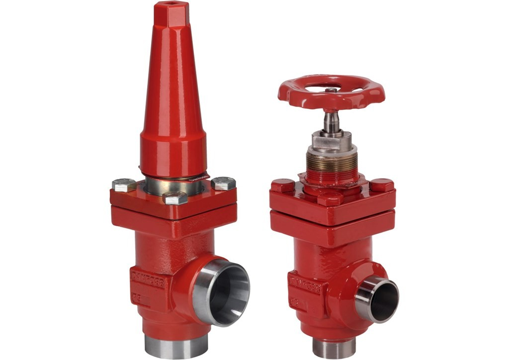 ANG  SHUT-OFF VALVE HANDWHEEL 148B4665 STC 150 M Danfoss Shut-off valves